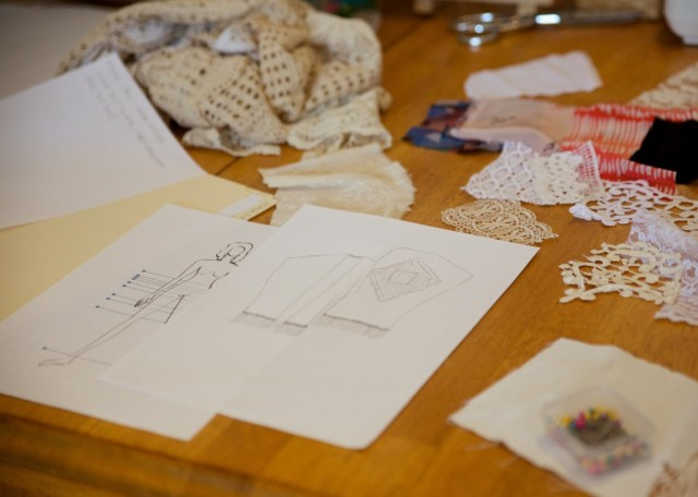 Our design mess.  Image by Gayle Dawn Photography.